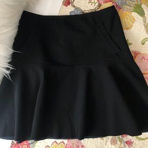 Lululemon Get It On Skirt Black Zip Back
